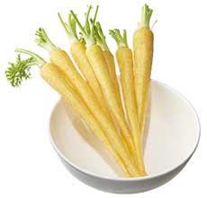 Baby Yellow Carrot